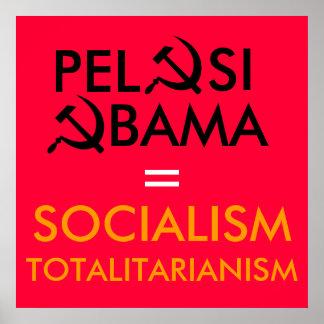 Pelosi, Obama Poster