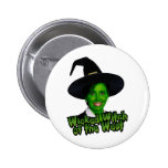 Pelosi: Wicked Witch of the West Pinback Button