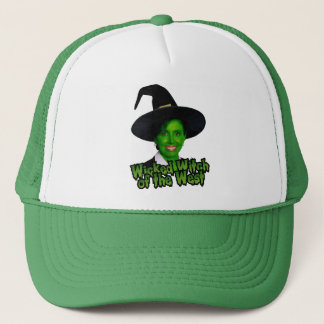 Pelosi Wicked Witch of the West Trucker Hat