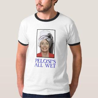 PELOSI'S ALL WET SHIRT