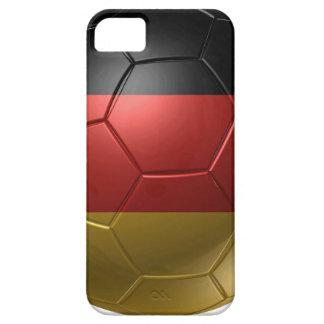pelota de Alemania Funda Para iPhone 5 Barely There