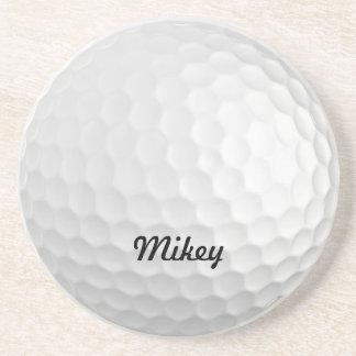 Pelota de golf adaptable posavasos personalizados