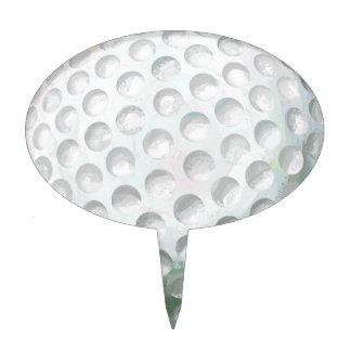 Pelota de golf figuras para tartas