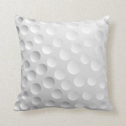 Pelota de golf almohada