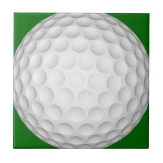 Pelota de golf azulejo cuadrado pequeño