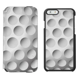 Pelota de golf Barely There Funda Cartera Para iPhone 6 Watson