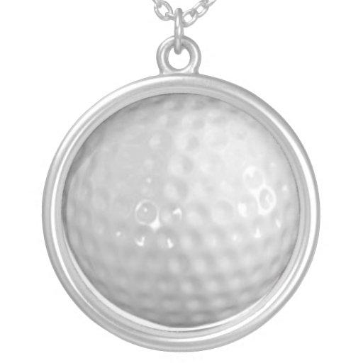 pelota de golf colgantes