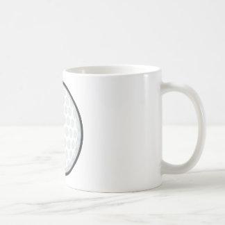 Pelota de golf creativa tazas de café