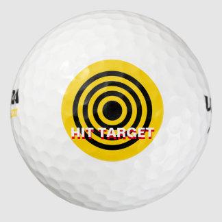 Pelota de golf del punto de la blanco pack de pelotas de golf