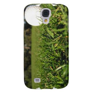 Pelota de golf en el caso del iPhone 3G del curso
