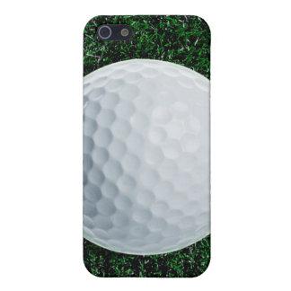 Pelota de golf en el caso del iPhone 5/5S de la iPhone 5 Funda