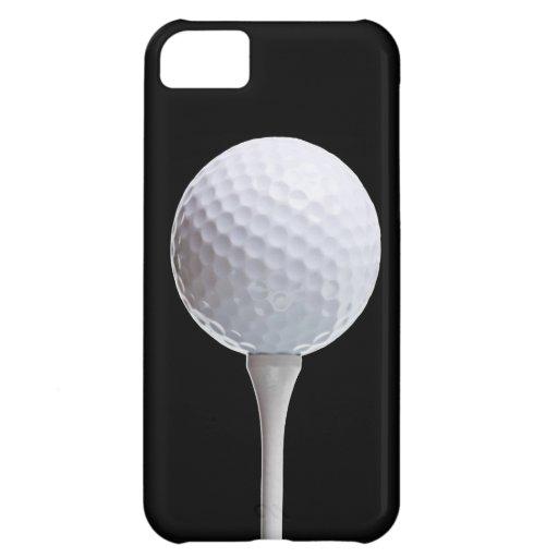 Pelota de golf en el negro - plantilla modificada