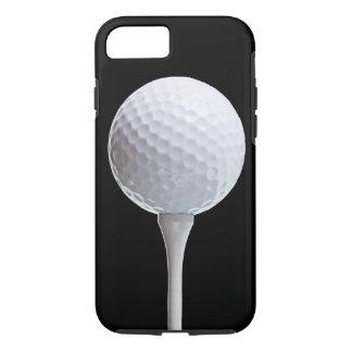 Pelota de golf en el negro - plantilla modificada funda iPhone 7