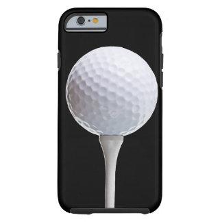 Pelota de golf en el negro - Templatecase