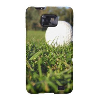 Pelota de golf en la caja de la galaxia de Samsung Galaxy SII Carcasa