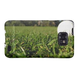 Pelota de golf en la caja de la galaxia de Samsung Galaxy SII Funda