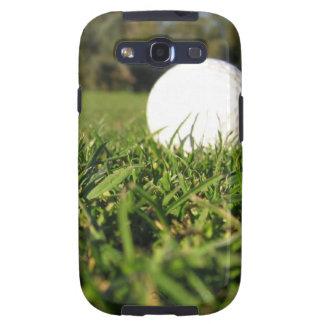 Pelota de golf en la caja de la galaxia de Samsung Samsung Galaxy S3 Cárcasa