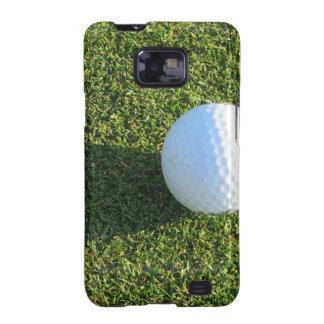 Pelota de golf en la caja de la galaxia de Samsung Galaxy S2 Fundas