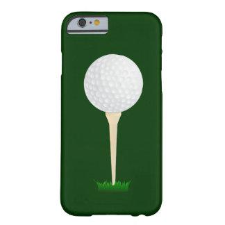 Pelota de golf en una camiseta funda para iPhone 6 barely there