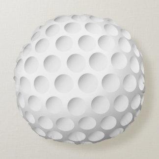 Pelota de golf fresca cojín redondo