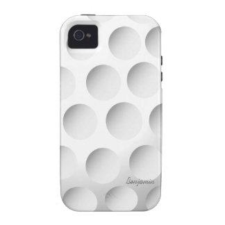 Pelota de golf iPhone 4/4S carcasas