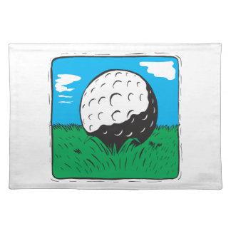 Pelota de golf mantel