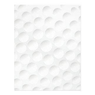 pelota de golf plantilla de membrete