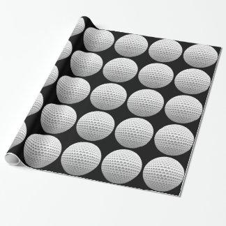 Pelota de golf papel de regalo
