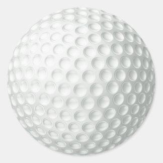 Pelota de golf pegatinas