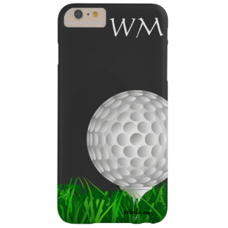 Pelota de golf, personalizada, golf funda de iPhone 6 plus barely there