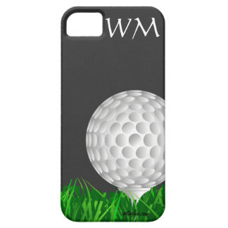 Pelota de golf, personalizada, golf iPhone 5 coberturas
