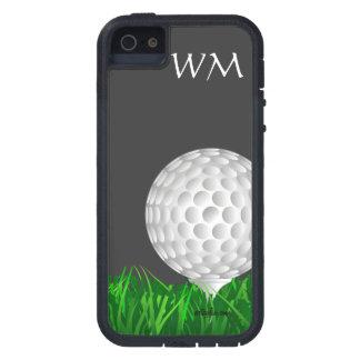 Pelota de golf personalizada golf iPhone 5 fundas
