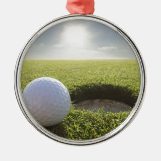 Pelota de golf PGA Adorno Navideño Redondo De Metal