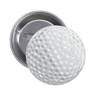 Pelota de golf pin redondo de 2 pulgadas