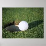 Pelota de golf poster