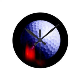 Pelota de golf reloj redondo mediano