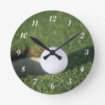 Pelota de golf relojes de pared