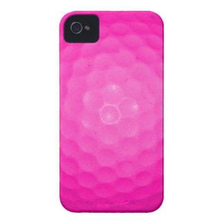 Pelota de golf rosada Case-Mate iPhone 4 carcasas