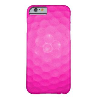 Pelota de golf rosada funda de iPhone 6 barely there