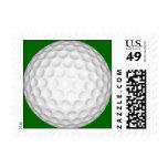 Pelota de golf sello