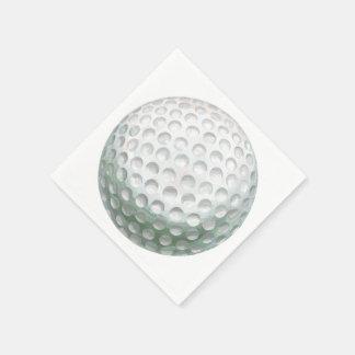Pelota de golf servilletas desechables