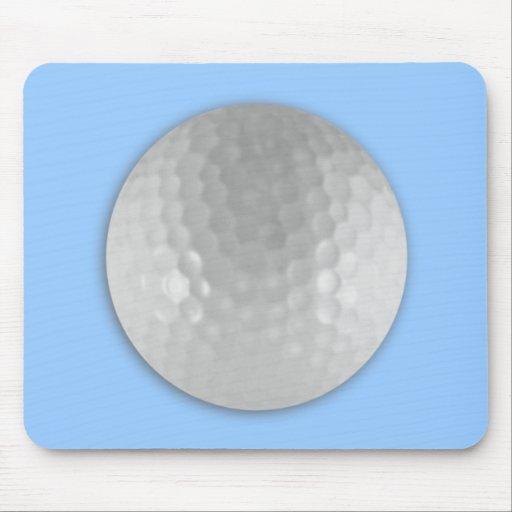 Pelota de golf tapetes de raton