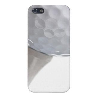 Pelota de golf y camiseta en plantilla modificada iPhone 5 carcasa