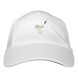 Pelota de golf y club gorra de alto rendimiento