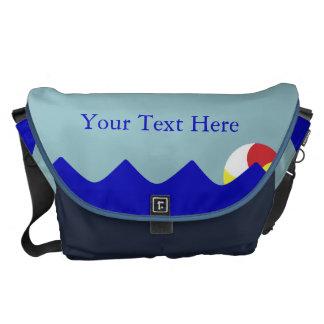 Pelota de playa de la piscina (personalizable) bolsas de mensajería