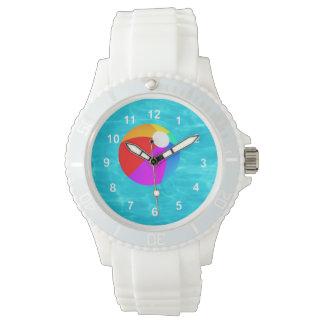 Pelota de playa relojes de mano