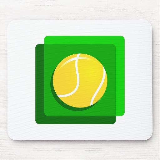 Pelota de tenis alfombrilla de raton