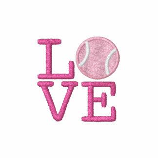 Pelota de tenis sudadera bordada con serigrafía