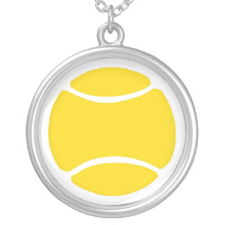 Pelota de tenis colgante redondo