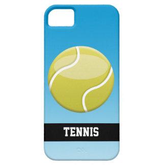 Pelota de tenis con el texto iPhone 5 Case-Mate protectores